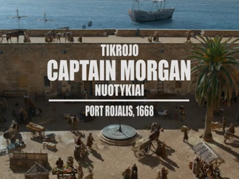 Video reklama Captain Morgan