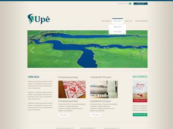 Interneto svetainė su e.parduotuvės platforma