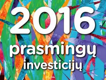 Investicijų 2016